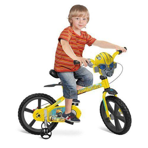 Bicicleta ARO 14 Transformers Bandeirante 3352