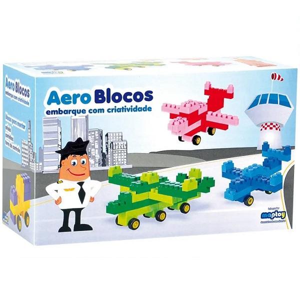 Blocos de Montar Aero Blocos Maptoy 653
