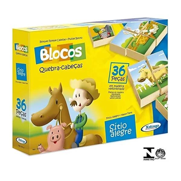 Blocos QUEBRA-CABEÇA Sitio Alegre Xalingo 5273.2