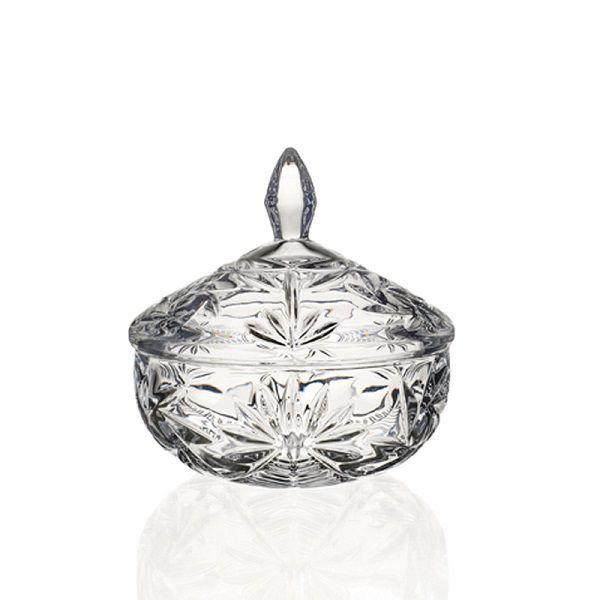 Bomboniere Pinwheel em Cristal Ecologico D13,5XA15CM Transparente Bohemia 56743