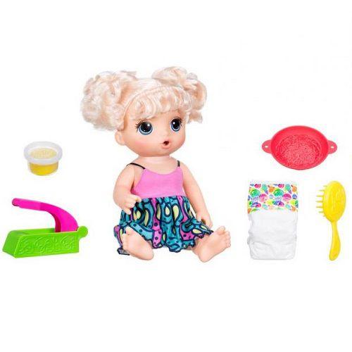 Boneca BABY Alive Espaguete Loira Hasbro C0963 11977