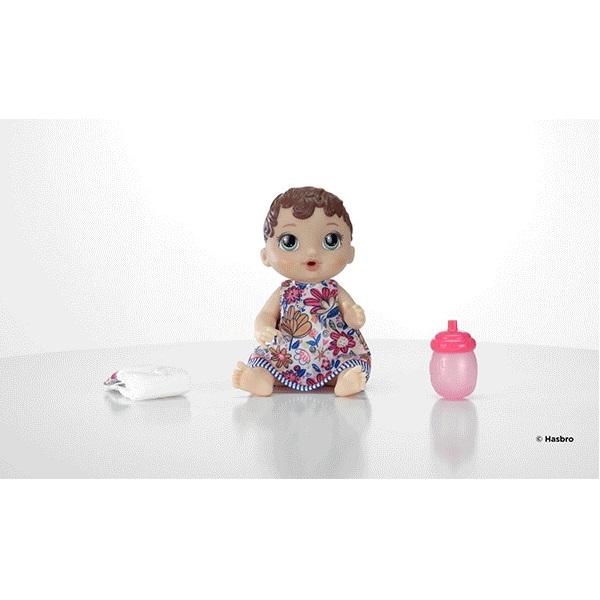 Boneca BABY Alive Hora do Xixi Morena Hasbro E0499 13104