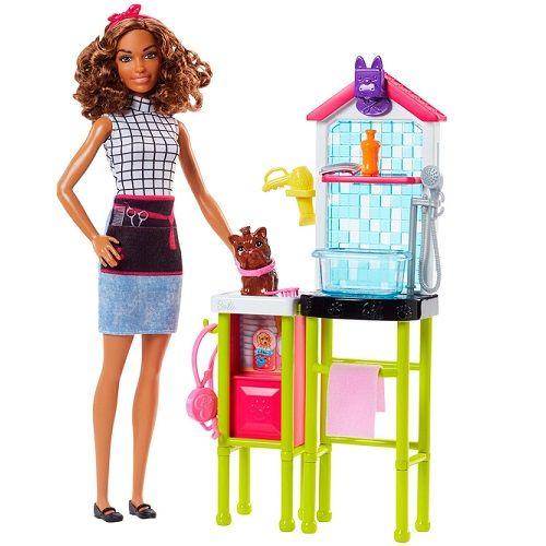 Boneca Barbie Estilista de Bichinhos Mattel DHB63/FJB31