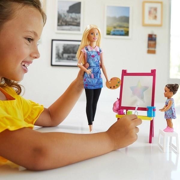 Boneca Barbie Profissoes Conjunto Professora Mattel DHB63/FJB29