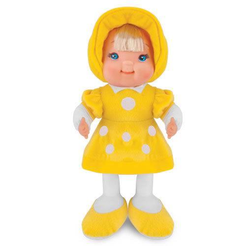 Boneca de Pano Fashion Amarela Cortex 4102