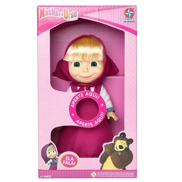 Boneca Masha com Som Estrela 0015