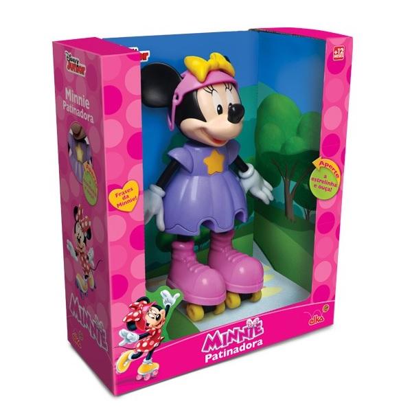 Boneca Minnie Patinadora ELKA 950