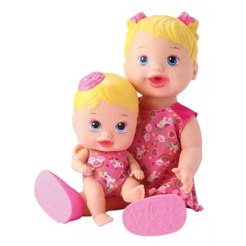 Boneca MY Little Collection Alive TAL Mae TAL Filha Divertoys 8020