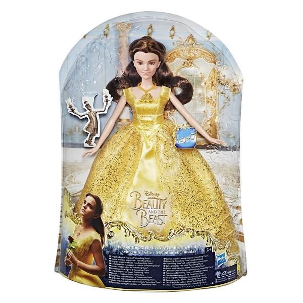 Boneca Princesas Bela Melodia Hasbro 12007 B9165