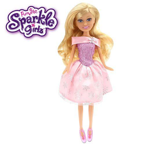 Boneca Sparkle GIRLZ Princesa STAR Cone Cabelo Loiro Escuro DTC 4752