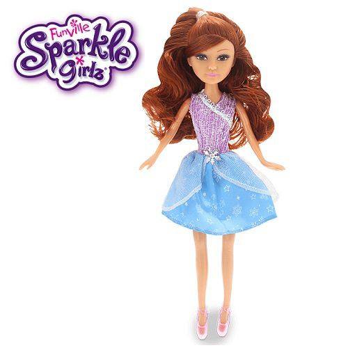 Boneca Sparkle GIRLZ Princesa STAR Cone Cabelo Ruivo DTC 4752