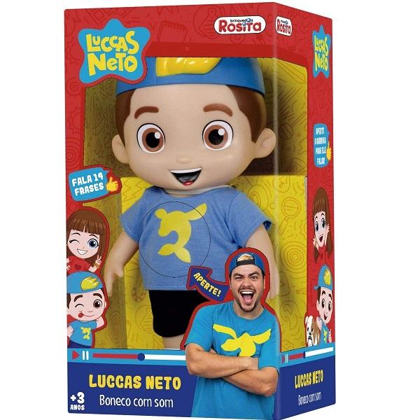 Boneco Articulado Luccas Neto Rosita 1070