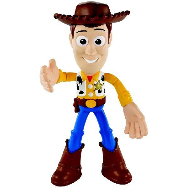 Boneco Articulado TOY STORY 4 BENDY Woody Mattel GGK83