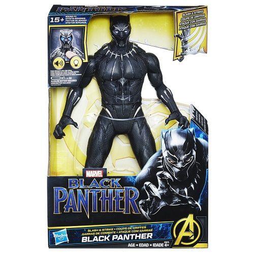 Boneco Avengers Figura Eletronico Pantera Negra Hasbro E0870 12960