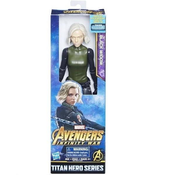 Boneco Avengers Titan Hero INFINITY WAR Viuva Negra Hasbro E2170