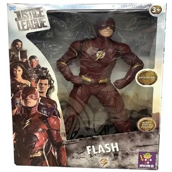 Boneco FLASH Gigante Liga da Justiça Mimo 923