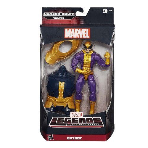 Boneco Marvel Legends 6 Batroc Hasbro B0438