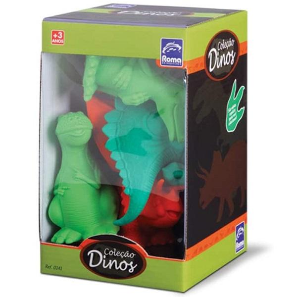 Bonecos Coleçao Dinos Roma 0141