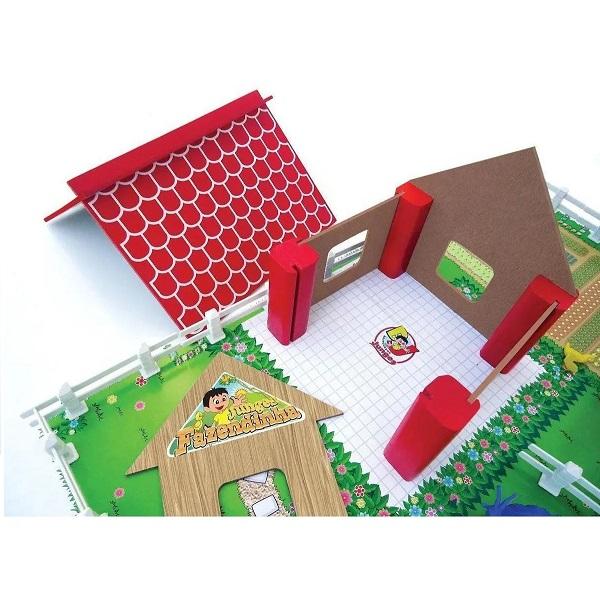 Brinquedo Fazendinha 52 Peças Junges 725