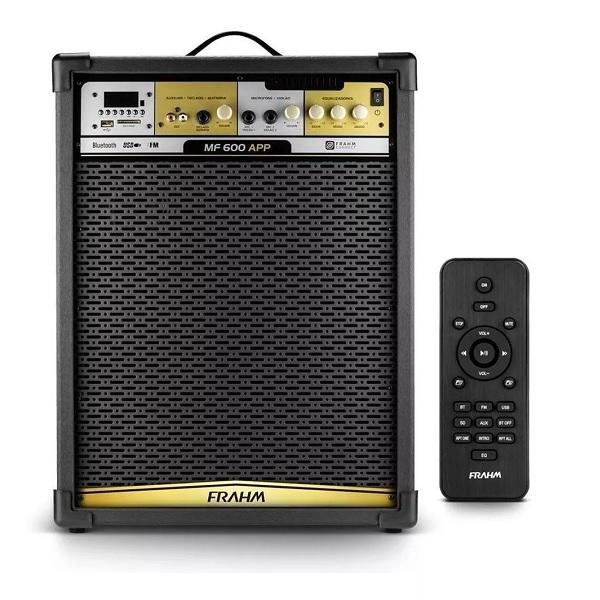 Caixa Amplificada FRAHM MF600 APP Bluetooth 31516