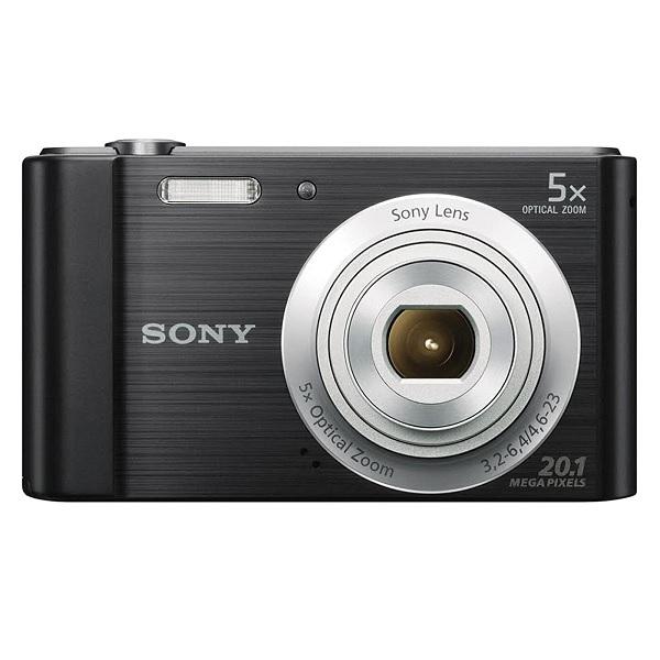 Camera Digital SONY DSC-W800 20.1MP 5X Zoom Optico Foto Panoramica HD Preta