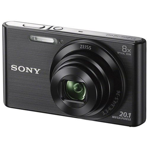 Camera Digital SONY DSC-W830 20.1MP CYBER-SHOT 8X Zoom Preta