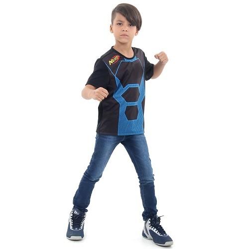 Camiseta NERF AZUL M Hasbro 12155 13324