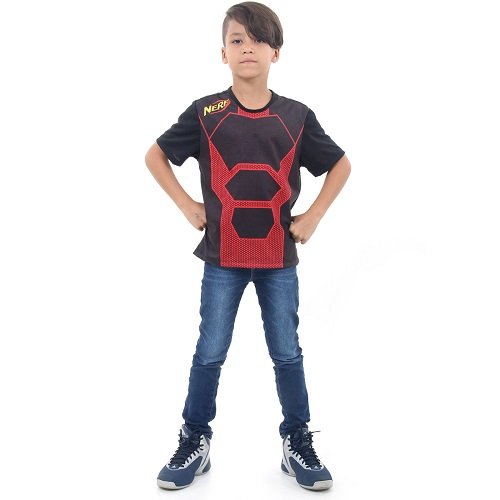 Camiseta NERF Vermelha M Hasbro 12157 13323