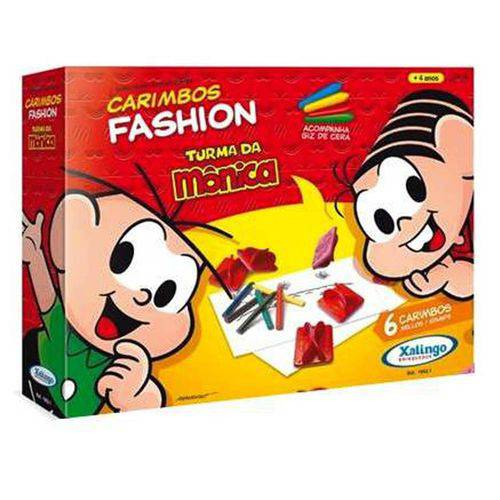 Carimbos Fashion Turma da Monica Xalingo 1062.1