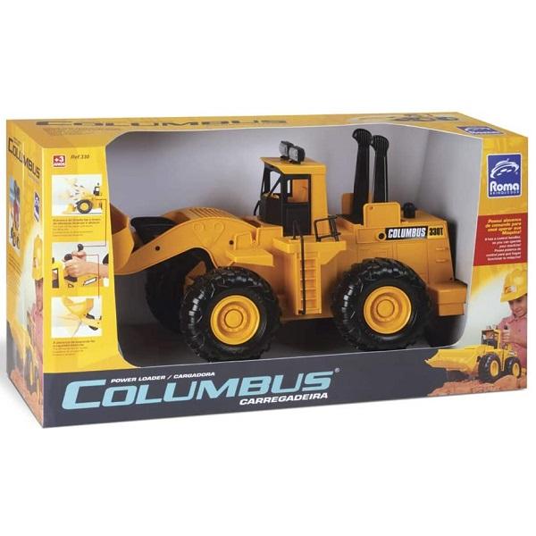 Carregadeira Columbus Roma Brinquedos 0330