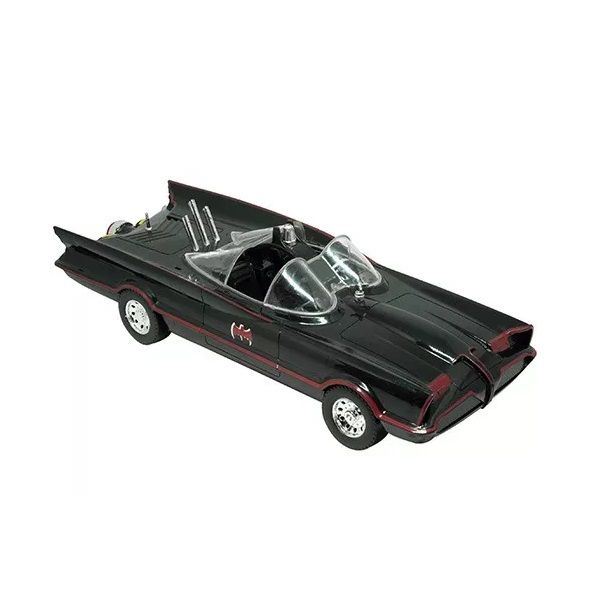 Carro Batman Batmovel Classico Serie TV Roda Livre Candide 9058