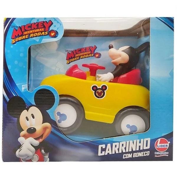Carro com Boneco Mickey Lider 2434