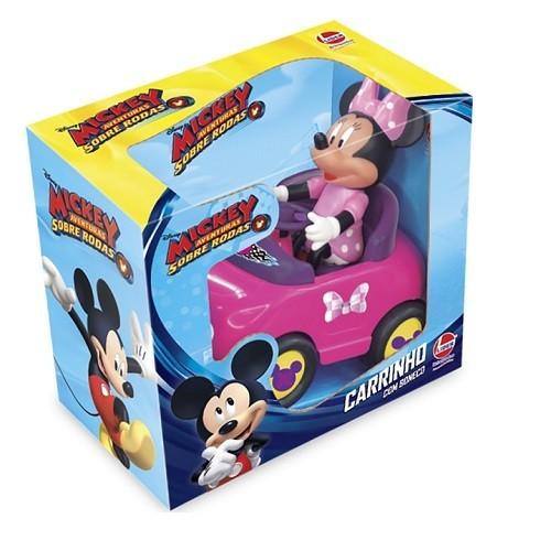 Carro com Boneco Minnie Lider 2434
