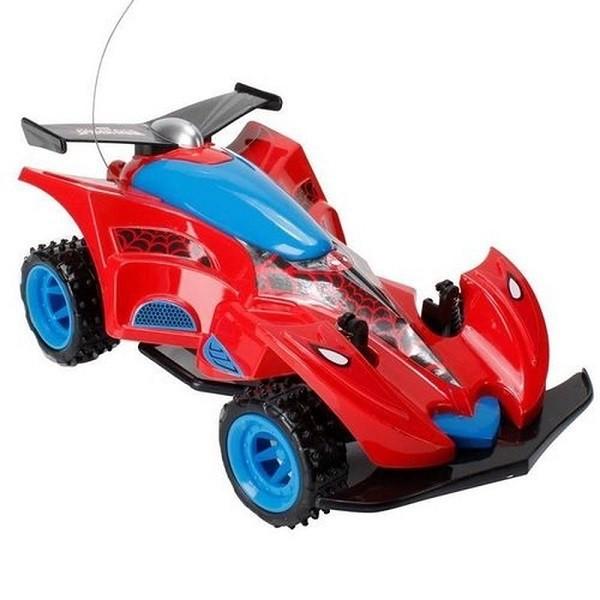 Carro Controle Remoto Spiderman Marvel Candide 5812