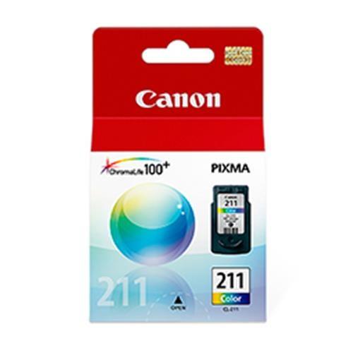 Cartucho Canon CL-211 Jato de Tinta Color 9ML