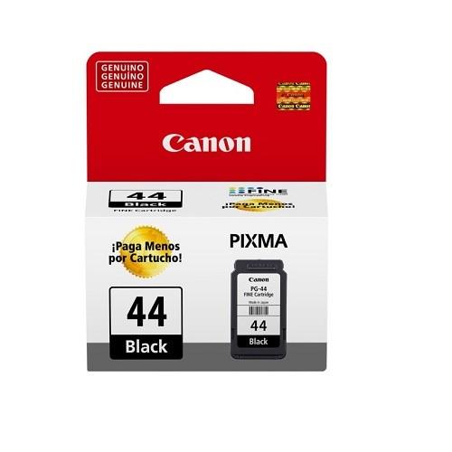 Cartucho Canon PG-44 Jato de Tinta Preto 5,6ML