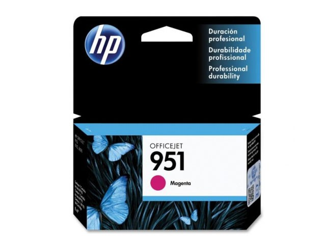 Cartucho HP 951 CN051AB Magenta Officejet 8 ML