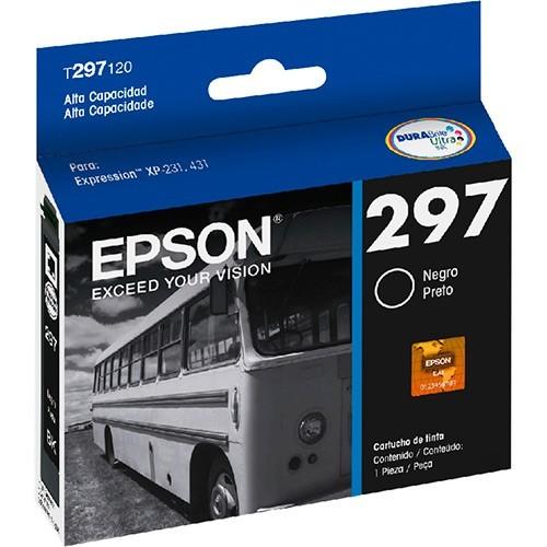 Cartucho EPSON 297 Preto T297120 XP231/431