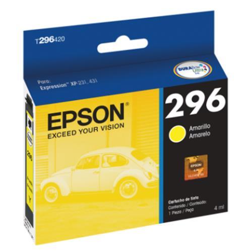 Cartucho EPSON P/ XP-231/431 Amarelo - T296420-BR