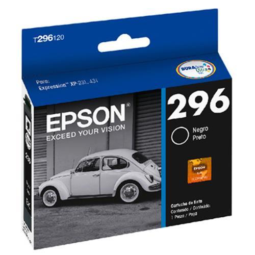 Cartucho EPSON P/ XP-231/431 Preto - T296120-BR