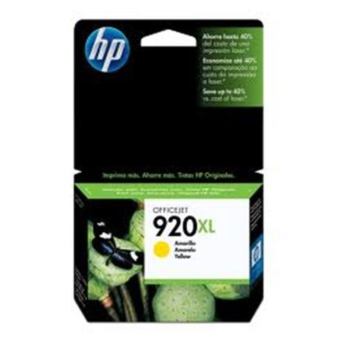 Cartucho HP 920XL Jato de Tinta Amarelo 7,5ML - CD974AL