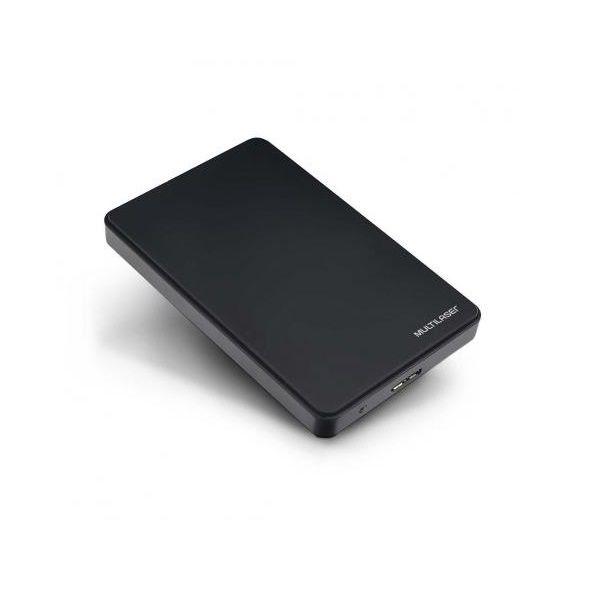 Case Externo para HD SATA 2.5 POL. Preto USB 3.0 Multilaser GA174