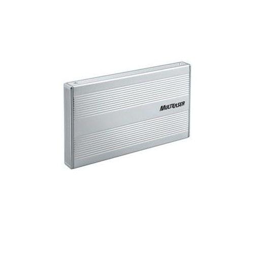 Case para HD Notebook Multilaser GA030 Prata