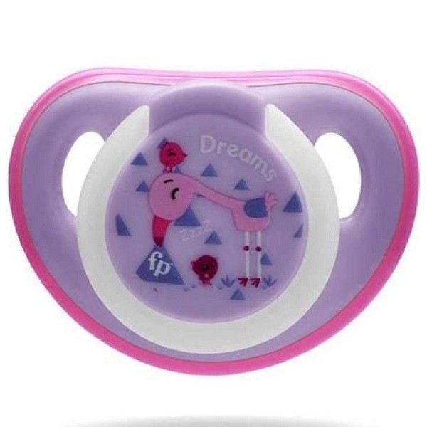 Chupeta FIRST Moments GLOW 0-06 Meses Fisher Price Lilas Multkids BB1038
