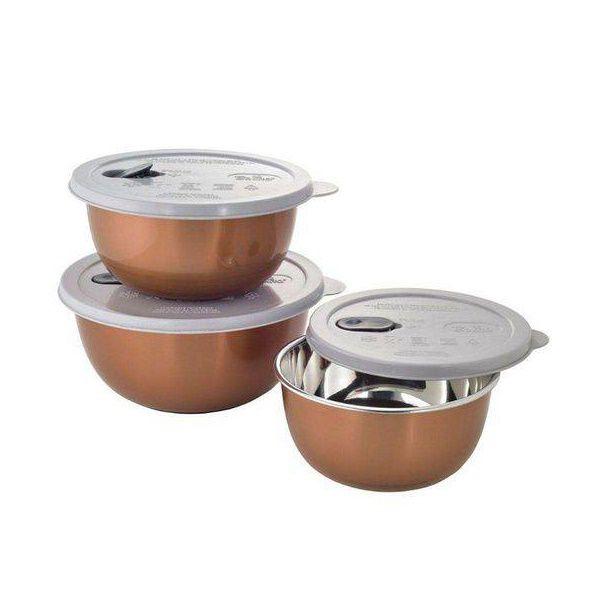 Conjunto de Potes para Microondas 3 Peças AN852BZ Mimo STYLE 6332