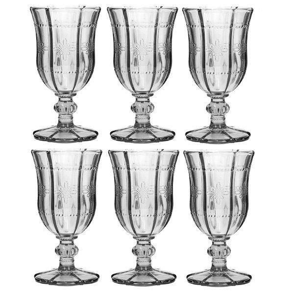 Conjunto de Taças de Vinho KNOT 260ML 6PÇS BON Gourmet 25986