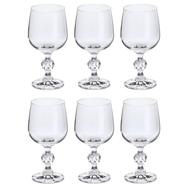 Conjunto de Taças para Vinho Tinto 230ML Claudia 6 Peças Bohemia 57682