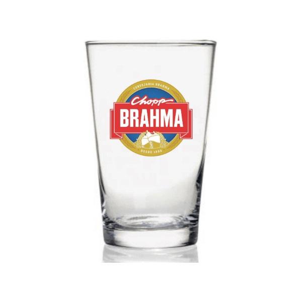 Copo CHOPP Brahma em Vidro 350ML Globimport