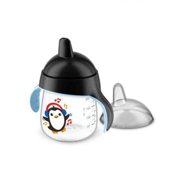 Copo Pinguim 260ML Philips AVENT SCF753/03 Preto