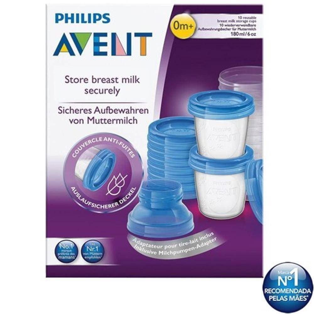 Copos para Armazenamento de Leite Materno Philips AVENT SCF618/10